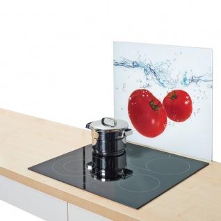 Glasschutzplatte für den Ofen TOMATO SPLASH - groß, ZELLER
