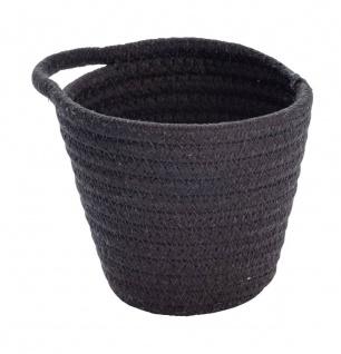 Badkorb rund SORIA, Farbe schwarz, Wenko