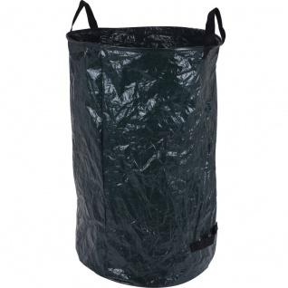 Gartenabfallsack, Laubsack, 120 L, Kunststoff