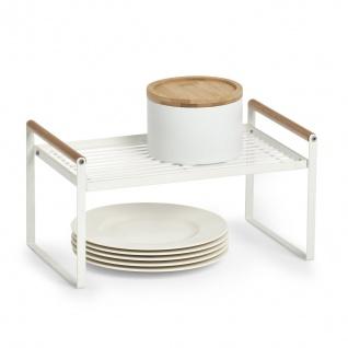 Multifunktionales Küchenregal, Metall, ZELLER - ZELLER