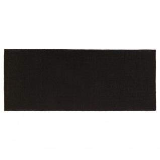 Badteppich TAPIS UNI, 50x120 cm, schwarz