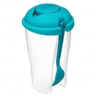 Lebensmittelbehälter, Lunchbox mit Gabel und Behälter, 20 cm - 5five Simple Smart