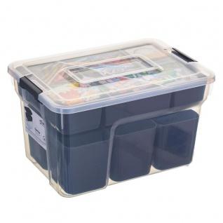 Organizer für kleine Sachen, Werkzeugkiste, SAMBA, 8L, Kunststoff - 5five Simple Smart