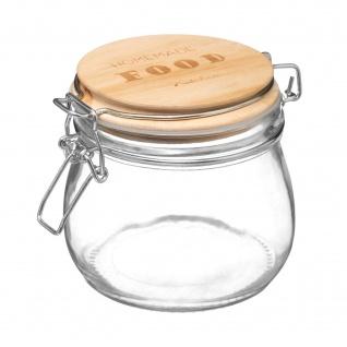Glas mit Deckel, 500 ml