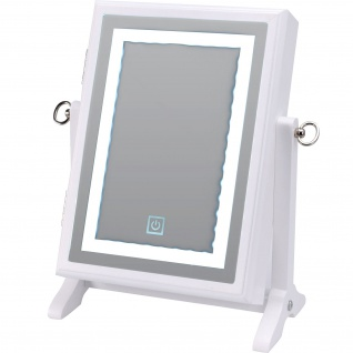 Schmuckschatulle mit Spiegel, 32 cm, weiß - Home Styling Collection