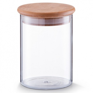 Glasbehälter mit Bambusdeckel, 750ml, ZELLER
