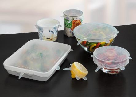 Silikon-Deckel für Lebensmittelbehälter, 6 Stück, WENKO - WENKO