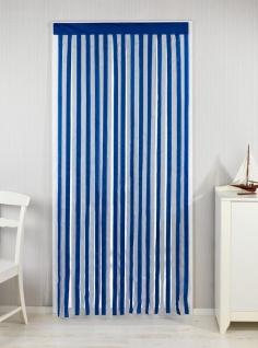 Türvorhang, blau-weiß, 90 x 200 cm, WENKO - WENKO