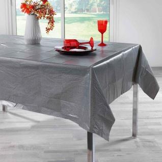 Tischdecke, rechteckig, PEVA ALESSA, 140 x 240 cm, Anthrazit