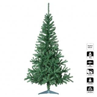 Künstlicher Weihnachtsbaum GRÜN 1 M50 290 Zweige - Fééric Lights and Christmas