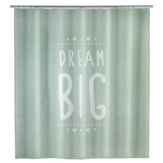 WENKO Duschvorhang Dream Big 180 x 200 cm