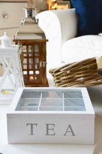 Holz Teebox TEA, 9 Fächer - Vorschau 5