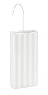 Luftbefeuchter für Kühler, Keramik, weiß mit Gürtel, WENKO
