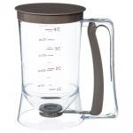 Messbecher für das Backen in der Küche, Verleiher, 1 Liter, Teigspender