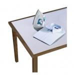 Tischbügeldecke Aluminiumbeschichtete Bügeldecke Bügelunterlage 125x75 cm