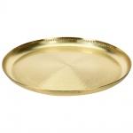 EH Excellent Houseware, Tablett, Obstteller - Edelstahl, goldn Ø 54 cm