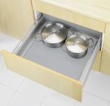 Wenko Anti-Rutsch-Matte Noppen zuschneidbar, Ethylenvinylacetat, grau, 150 x 50 x 0, 1 cm