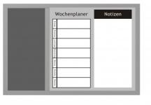 ZELLER Kombitafel 3-in-1 WOCHENPLANER