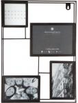 Atmosphera Créateur d'intérieur, Metall-Multirama für 4 Fotos, 30x40 cm