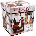 Aufbewahrungsbox, Behälter mit Deckel - 2 in 1, Paris