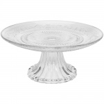 EH Excellent Houseware Etagere, Tortenplatte, Glas, Ø 20 cm