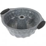 Backform - Kohlenstoffstahl, Granit Antihaftbeschichtung Ø 23 cm
