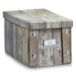 Zeller Aufbewahrungsbox, Wood, 16, 5 x 28 x 15 cm