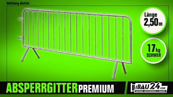 Absperrgitter / Personengitter Premium