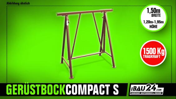 Gerüstbock / Faltgerüstbock Compakt S 1500