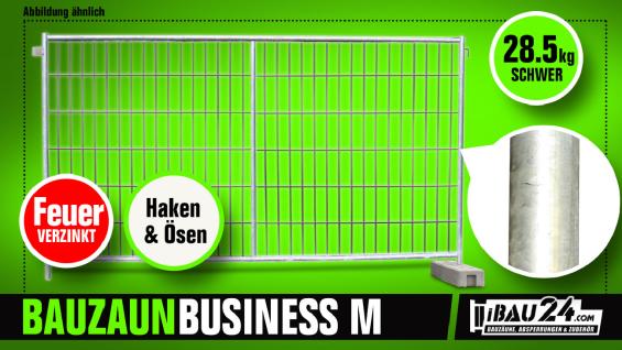 Bauzaun / Mobilzaun Business feuerverzinkt - Vorschau