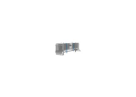 Absperrgitter / Personengitter Set 15