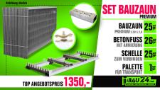 Bauzaun Set 87, 5m