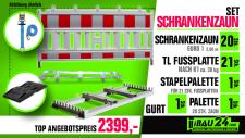 Schrankenzaun Set 2