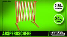 Absperrschere / Scherensperre ausziehbar