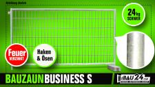 Bauzaun / Mobilzaun Business S feuerverzinkt mit Haken und Öse