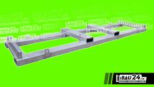 Transportpalette / Bauzaun / Mobilzaun 25