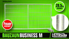 Bauzaun / Mobilzaun Business M feuerverzinkt