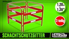 Schachtschutzgitter Profi 32 kg 1, 20 m breit 2 teilig
