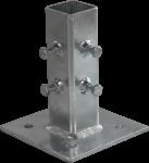 Adapterplatte für Beton-Aufstellvorrichtung