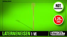 Laterneneisen, 10 x mit UVV-Bügel