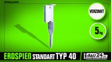 Erdspieß Typ Standard 40