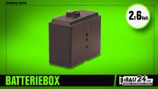 Batteriebox für 2 6V Batterien