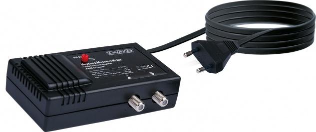 SCHWAIGER -BN2212 531- BK- und Nachverstärker (18 dB), Schwarz
