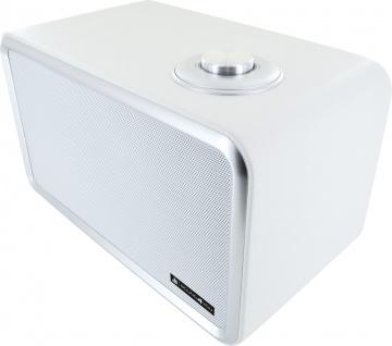 SCHWAIGER -661736- Bluetooth Stereo Lautsprecher, Weiß