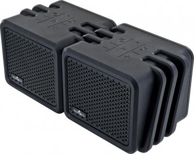 SCHWAIGER -661682- Bluetooth Stereo Lautsprecher, Schwarz