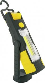 SCHWAIGER -VDWLED5 533- LED Arbeitslampe, Schwarz/Gelb