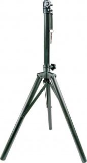 SCHWAIGER -DBS150 513- Aluminium Dreibeinstativ für Satellitenantennen, Schwarz