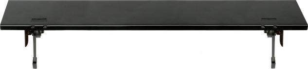 """SCHWAIGER -661811- TV-Ablagesystem 24"""" für Receiver oder Soundbar, Schwarz"""