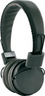 SCHWAIGER -KH510S 513- Bügelkopfhörer mit abnehmbarem Klinkenkabel, Schwarz