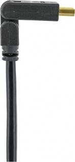 Schwaiger -hdms15 533- High-speed-hdmi-kabel Mit Ethernet 180° Hdmi-stecker Zu 180° Hdmi-stecker, Schwarz - Vorschau 3